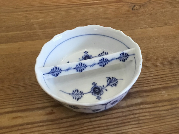 Musselmalet / Blue Fluted: Aschenbecher