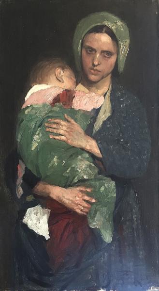 Wilhelm Beckmann (1852-1942): Mutterglück