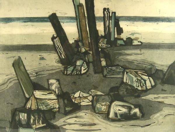 Otto Eglau (1917-1988): Am Meer