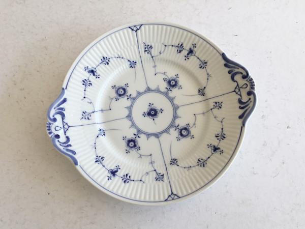 Musselmalet / Blue Fluted: Kuchenplatte