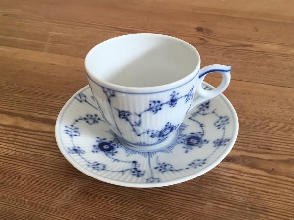 Musselmalet / Blue Fluted: Kaffeetasse