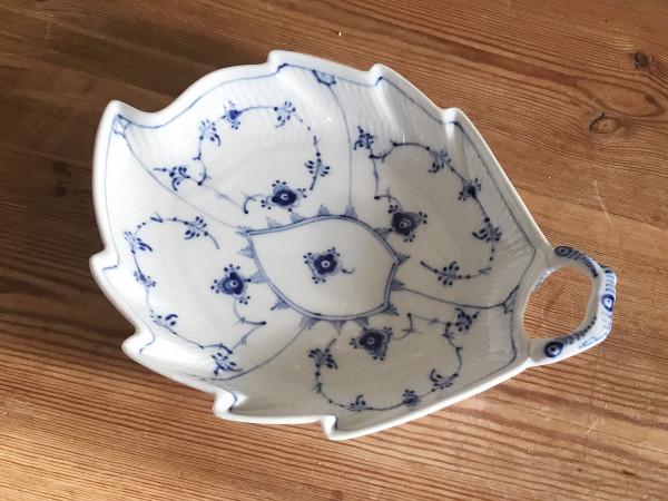 Musselmalet / Blue Fluted: Schale, Blattform
