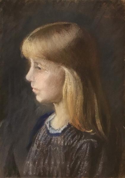 Michael Ancher (1849-1927): Portrait eines Mädchens