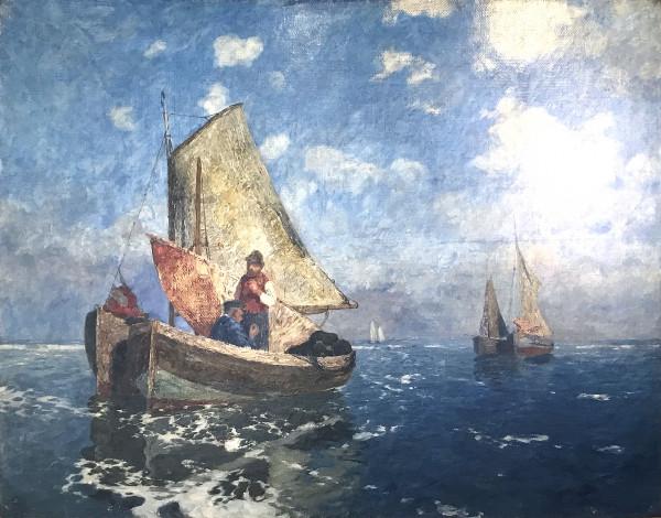 Andreas Dirks (1865-1922): Windstill