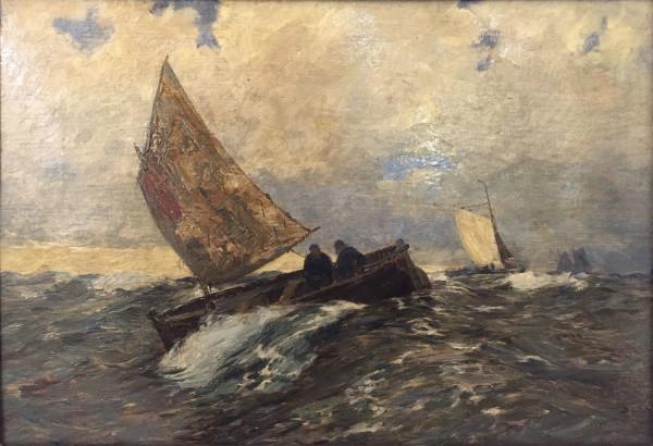 Andreas Dirks (1865-1922): Fischerboote