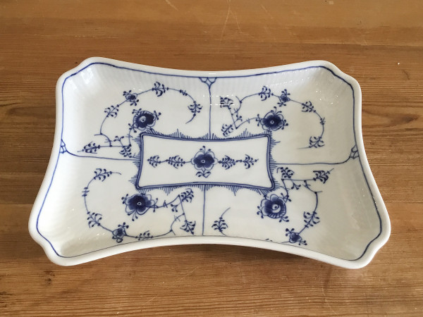 Musselmalet / Blue Fluted: Schale / Platte