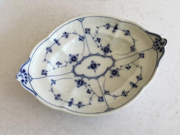 Musselmalet / Blue Fluted: Brotschale