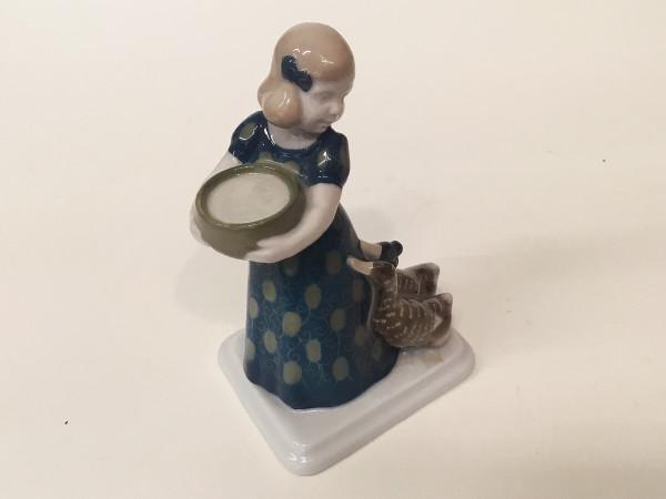 """Rosenthal Figur """"Mädchen mit Enten"""""""