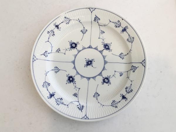 Musselmalet / Blue Fluted: Servierplatte, rund