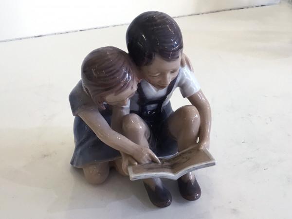 """Dahl-Jensen Figur """"Lesende Kinder"""""""