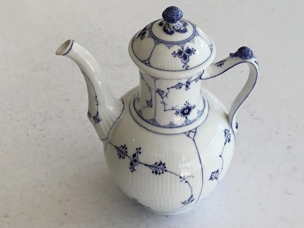 Musselmalet / Blue Fluted: Kaffeekanne, XXL